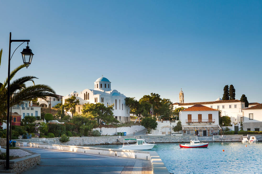 Luxury Yacht Charter in Argo-Saronic islands, Greece