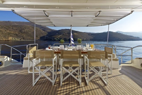 Luxury yacht charter Greece